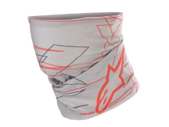 MM93 Neck Tube Neckwarmer Marc Marquez Halswärmer mid gray red