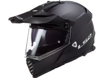 Helm LS2 MX436 Pioneer Evo Solid Matt Black schwarz matt