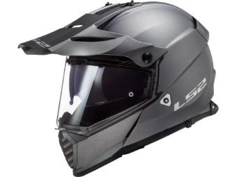 Helm LS2 MX436 Pioneer Evo Solid Matt Titanium