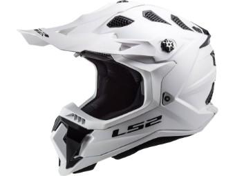 Crosshelm LS2 MX700 Subverter Evo Solid White weiß