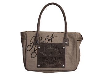 54 Panama Collection Bluefield Tasche Stone
