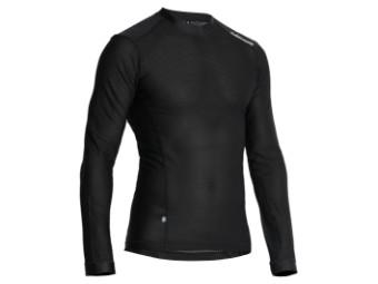 Unterhemd Halvarssons Mesh Sweater schwarz
