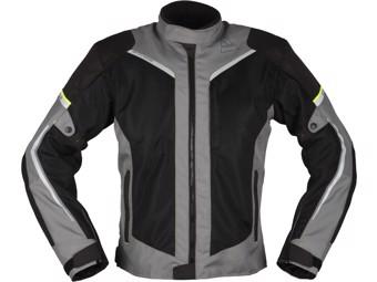 Motorradjacke Modeka Mikka Air Sommerjacke schwarz grau