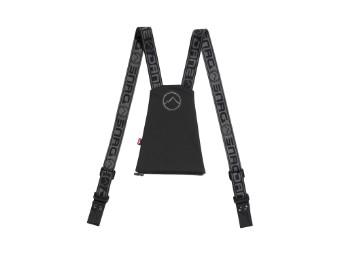 Hosenträger für Motorradhosen mit Reißverschluss und Knöpfen