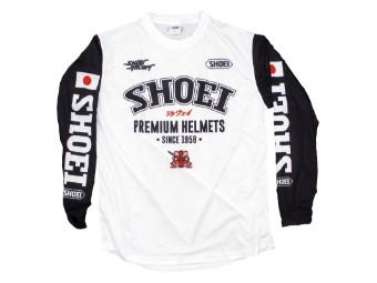 Crosshemd Shoei MX Shirt Hot Frog schwarz weiß