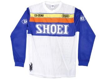 Crosshemd Shoei MX Shirt Equation weiß blau orange gelb