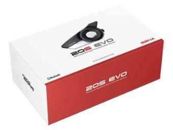 20S Evo Einzelset Bluetooth Sprechanlage Headset 40mm Lautsprecher Interkom