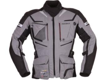 Motorradjacke Modeka Panamericana grau schwarz