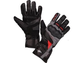 Motorradhandschuhe Modeka Panamericana schwarz rot Sympatex Membrane