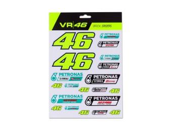 Stickerset VR46 Dual Petronas Stickers VR|46 Valentino Rossi Aufkleber Set