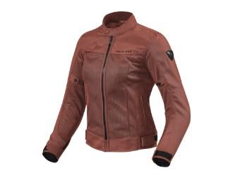 Motorradjacke Revit Eclipse Ladies burgundy red