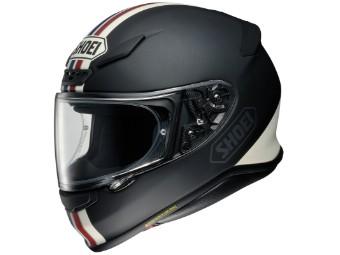 Helm Shoei NXR Equate TC-10 schwarz weiß matt