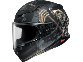 Helm Shoei NXR2 Faust TC-5 schwarz matt