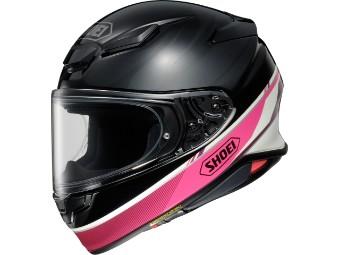 Helm Shoei NXR2 Nocturne TC-7 pink