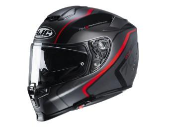 Motorradhelm HJC RPHA 70 Kroon MC1SF schwarz rot matt