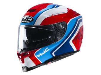 Motorradhelm HJC RPHA 70 Kroon MC21 rot blau weiß