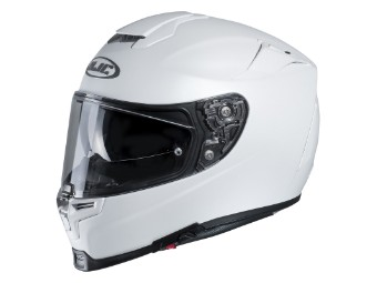 Motorradhelm HJC RPHA 70 Semi Flat White weiß matt