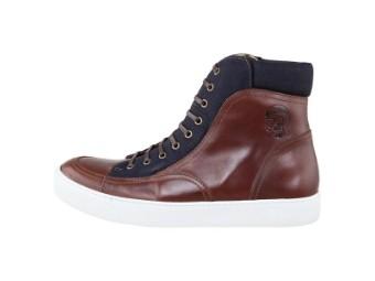 Schuhe Rokker Denim Sneaker Dark Brown