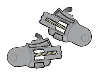 Visiermechanik S650 S700 S800 S900 Openline Ridill FX9561P