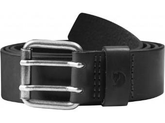 Ledergürtel Fjäll Räven Singi Two-Pin Belt Belt black