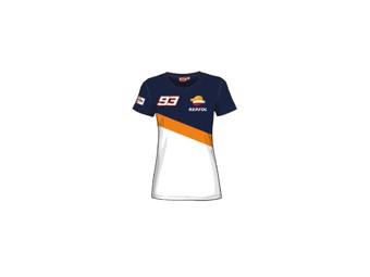 T-Shirt MM93 Dual Marc Marquez Replica Women