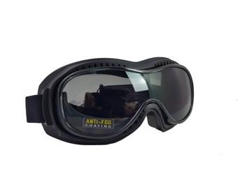 Motorradbrille Piwear Toronto smoke getönt Schutzbrille für Brillenträger