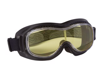 Motorradbrille Piwear Toronto yellow gelb Schutzbrille für Brillenträger