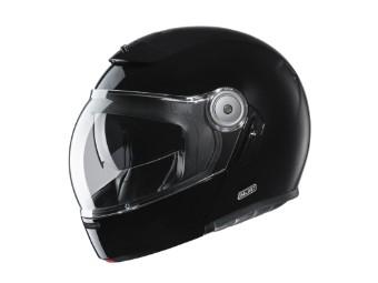 Klapphelm HJC V90 Solid Black schwarz glanz