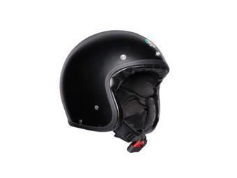 Legends X70 Solid Matt Black Open Face Helm Jethelm Motorradhelm