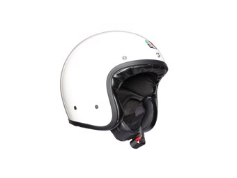 Legends X70 Solid White Open Face Helm Jethelm Motorradhelm