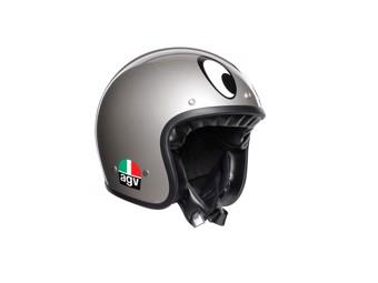 Legends X70 Montjuic Silver Open Face Helm Jethelm Motorradhelm