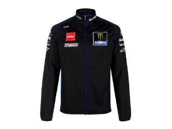 Sweatjacke Monster Energy Yamaha Team 2021 Black Blue