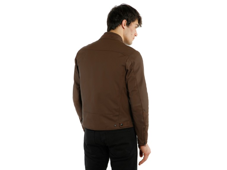 1533842-72D-Dainese-Mike-2-Leather-Jacket-brown-braun-Lederjacke-Motorradjacke-Detail Model 2