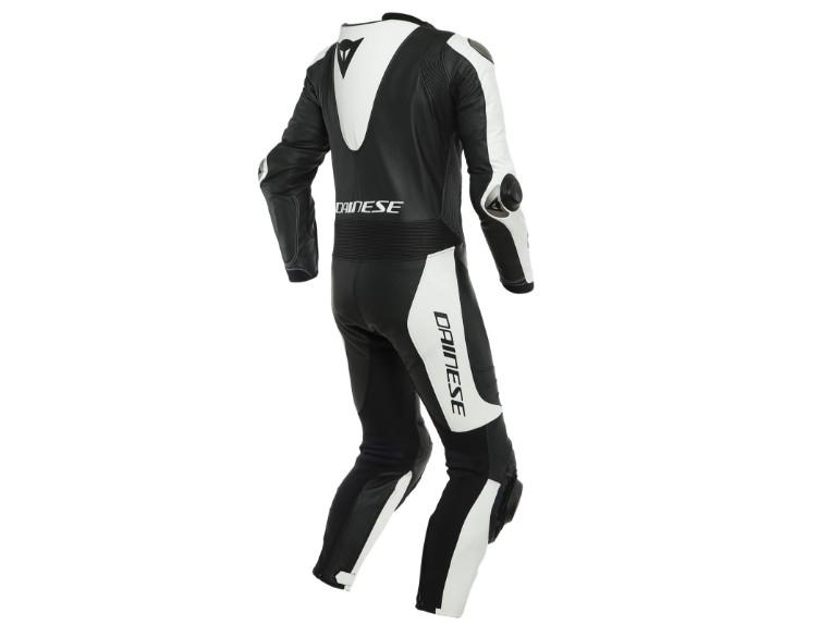 Dainese Laguna Seca 5 Einteiler 1513467622 schwarz weiß racing suit lederkombi-2