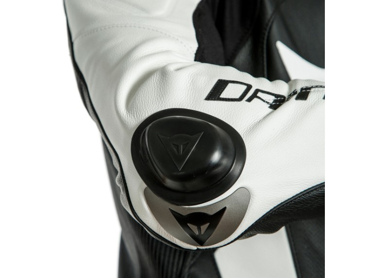 Dainese Laguna Seca 5 Einteiler 1513467622 schwarz weiß racing suit lederkombi-Detail 5