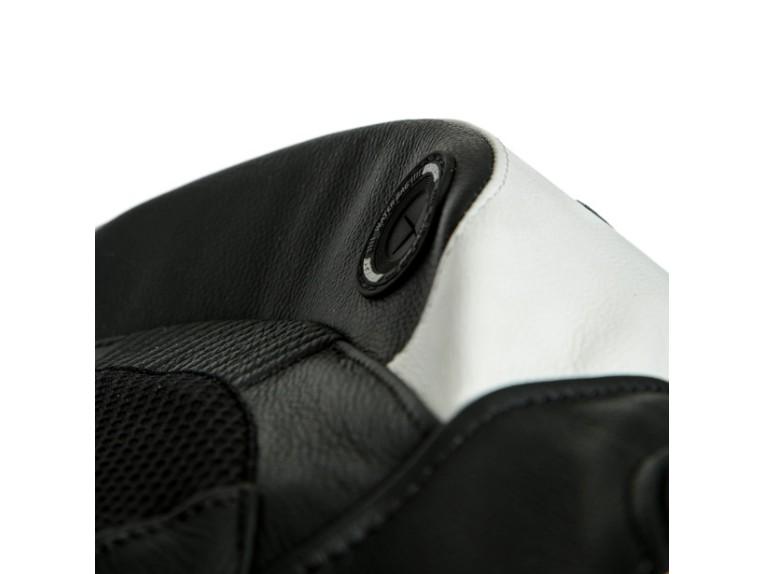 Dainese Laguna Seca 5 Einteiler 1513467622 schwarz weiß racing suit lederkombi-Detail 7