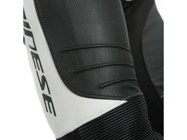Dainese Laguna Seca 5 Einteiler 1513467622 schwarz weiß racing suit lederkombi-Detail 8