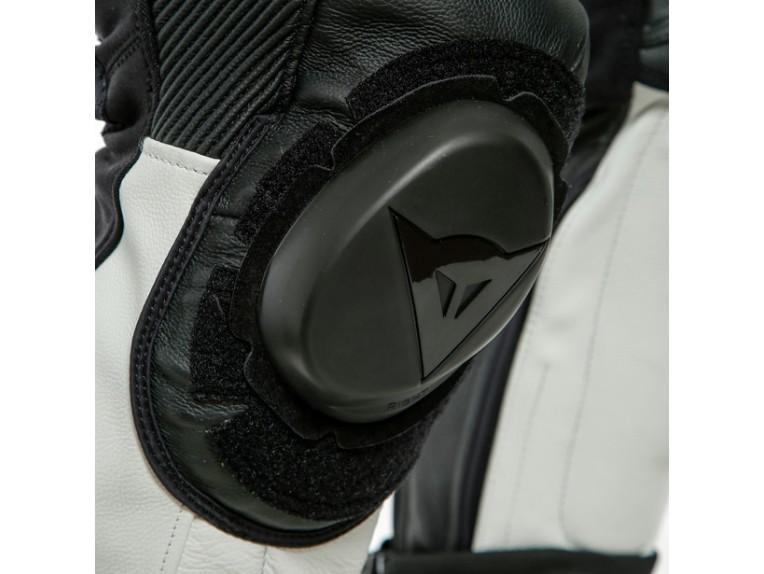 Dainese Laguna Seca 5 Einteiler 1513467622 schwarz weiß racing suit lederkombi-Detail 9