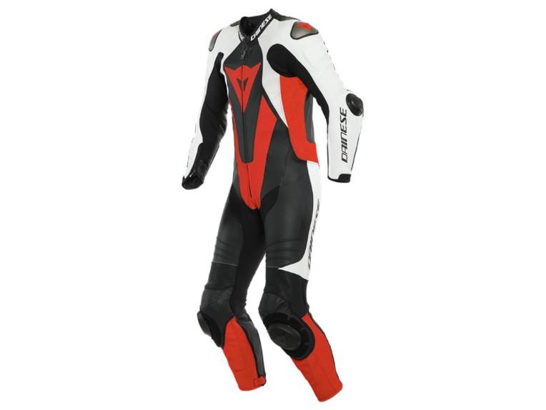 Dainese Laguna Seca 5 Einteiler 1513467N32 weiß schwarz rot racing suit lederkombi-groß 1800 x 1800