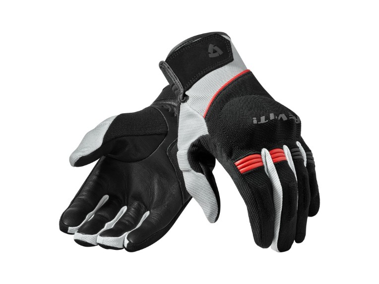 FGS131 1200 Revit Mosca gloves black red