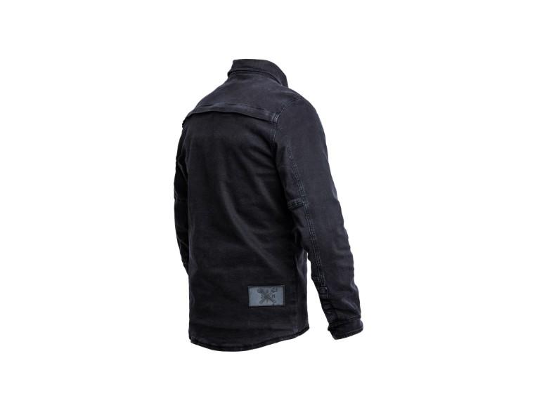 JDL5012_Motoshirt_Denim_Black_Side_Back