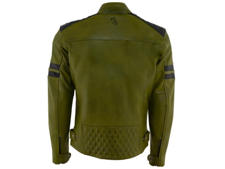 RustyStitches-68301-157-Jari-Motorrad-Lederjacke-green-black 2