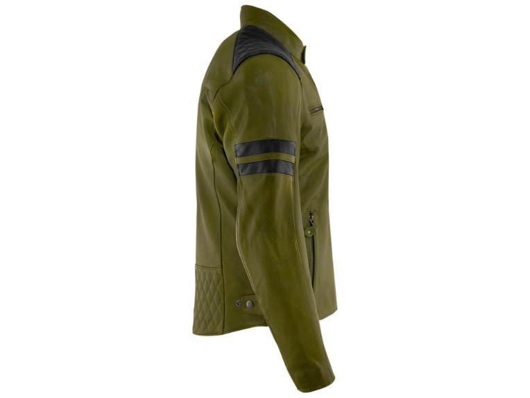 RustyStitches-68301-157-Jari-Motorrad-Lederjacke-green-black 4