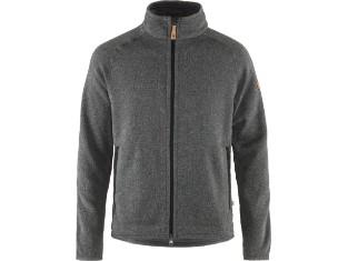 Övik Fleece Zip Sweater Herren Fleece Jacke
