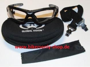 Shorty 24 selsttönend Brille mit Band und Bügel