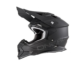 2 Series RL Crosshelm MX Helm flat black