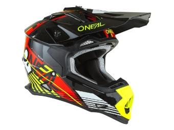 2 Series Rush V.22 Crosshelm Motorrad Helm