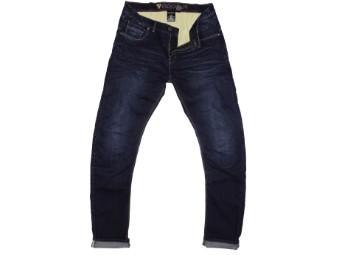 Glenn Motorradjeans Denim Jeans Aramid Verstärkung Kurzgröße