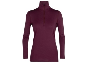 200 Oasis Longsleeve Half Zip Woman Baselayer Funktionsshirt