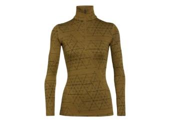 260 Vertex Half zip Ice Structure Women Funktionsshirt Shirt Langarm Damen